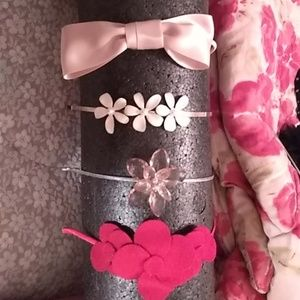 Accessories - Fliwers and bows headbands